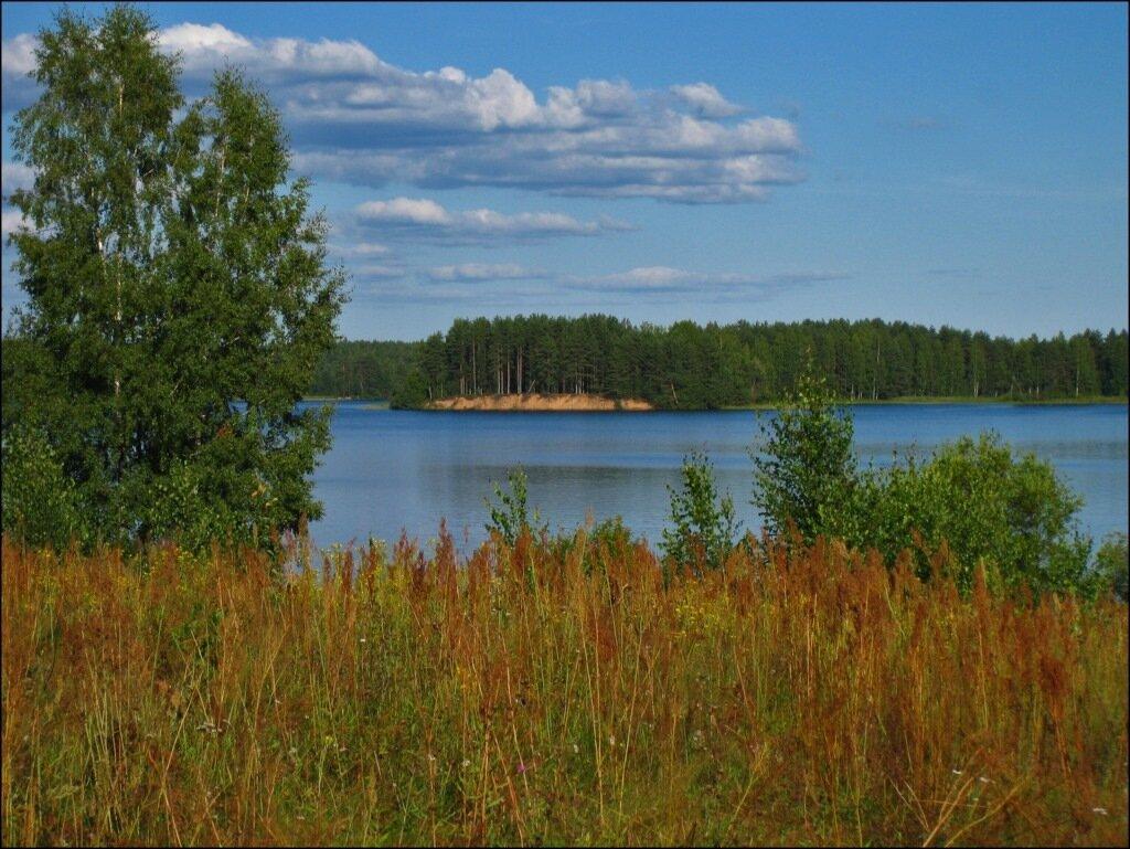 В предзакатный час на озере Велье