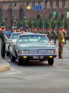 Автомобиль командующего парадом