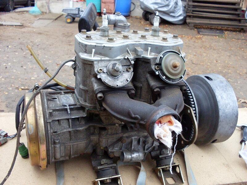 Мотор (подержанный от битого