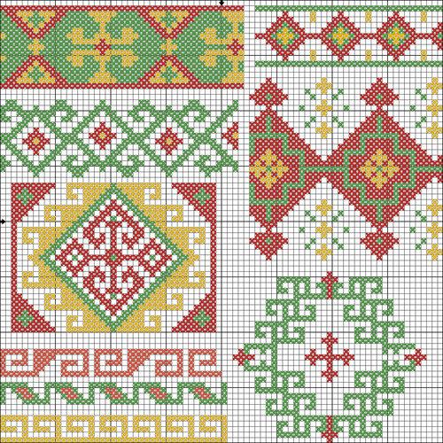 Грузинские орнаменты и узоры 4