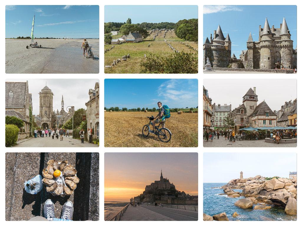 Велопутешествие по Франции. Поездка на велосипеде во Франции.