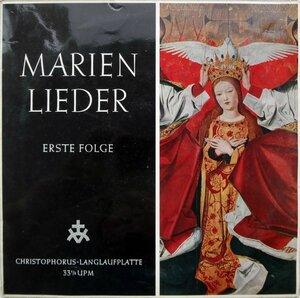 Marienlieder (1960) [Fono-Ring, FLP 77 035]