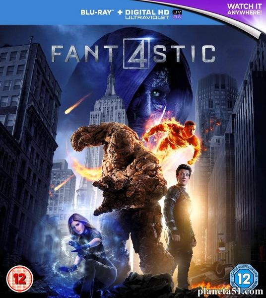 Фантастическая четверка / Fantastic Four (2015/BDRip/HDRip)