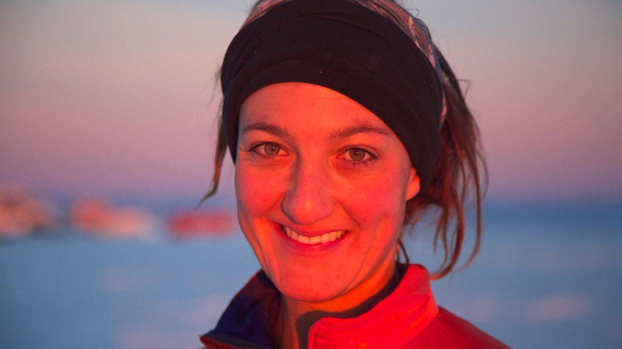Мария Лейджерстам Первый человек, что пересек Северный полюс на трицикле. Сейчас ее мечта – переплыт