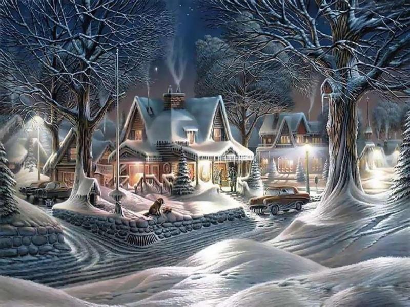 Большинство картин американского художника Терри Редлина — это пейзажи ианималистика, часто изобра