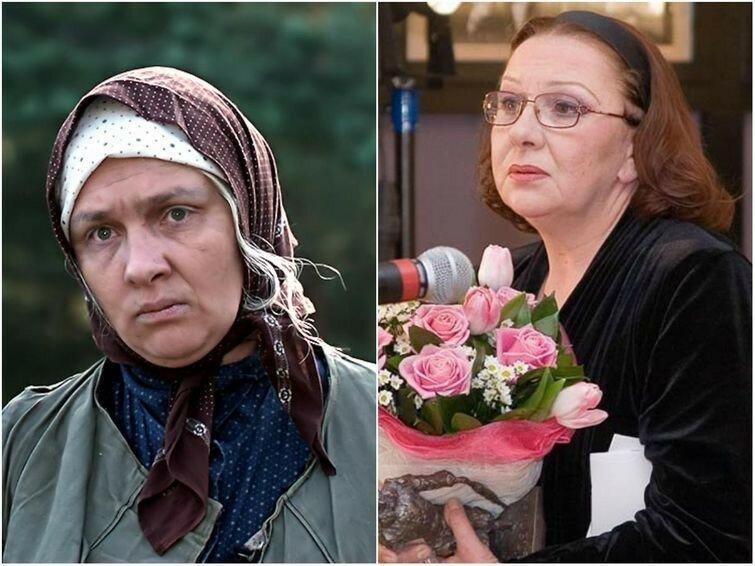 Баба Шура - Актриса Наталья Тенякова.