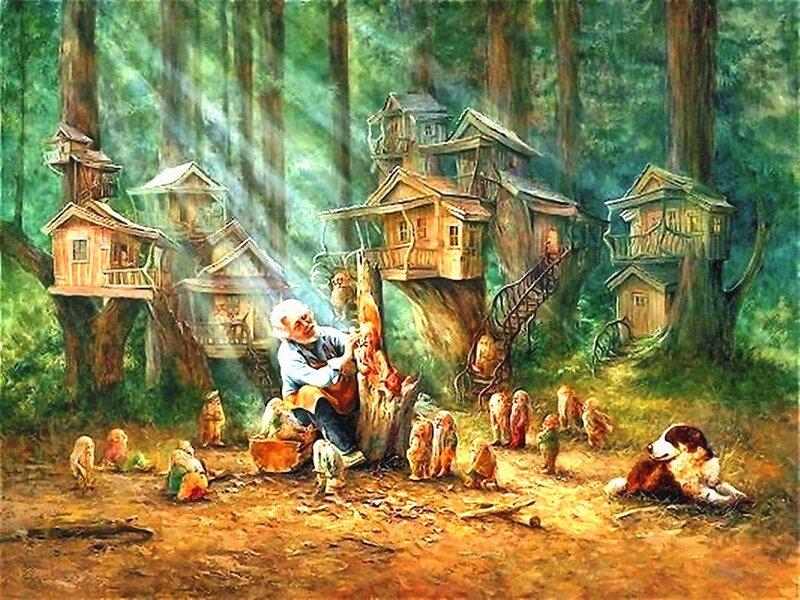 Художница Линн Лупетти. Мир сказки... (15).jpg