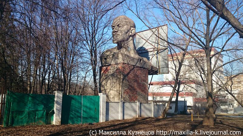 Отгороженный Ленин