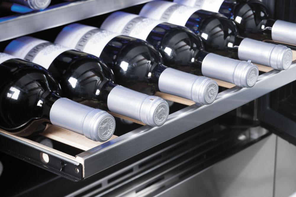 винные шкафы встраиваемые для кухни, винные шкафы с подсветкой