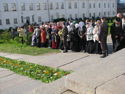 Ожидание патриарха Кирилла Гундяева
