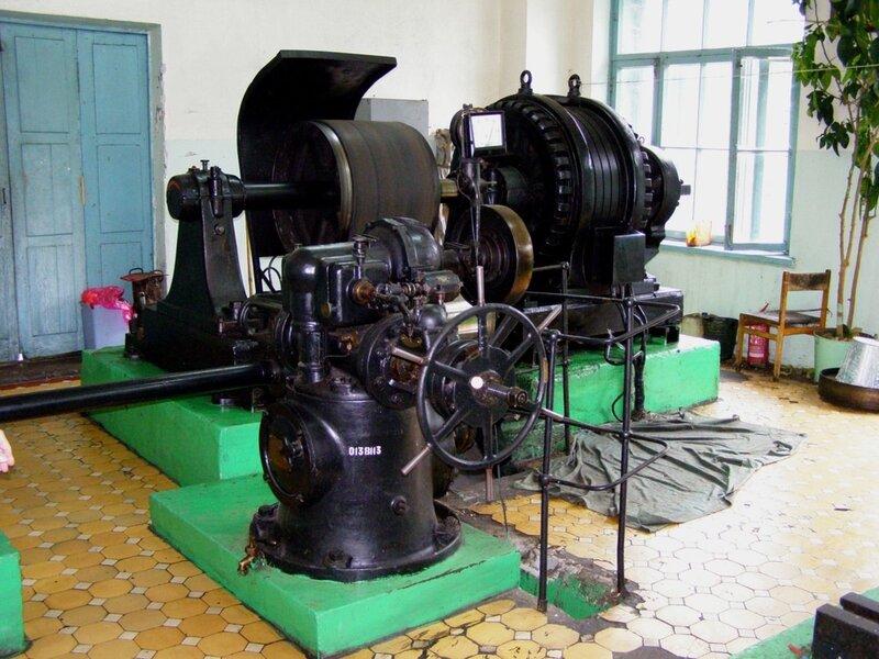 Генератор Чемальской ГЭС