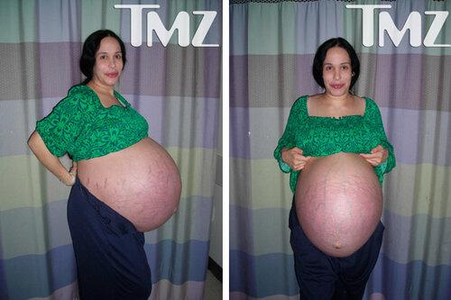Надя Сулеман ожидает восьмерню