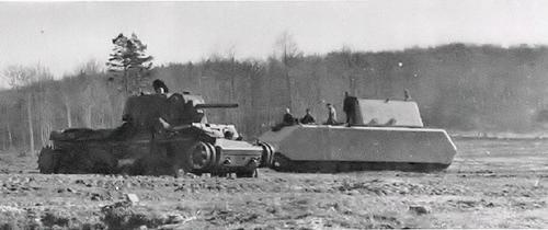 KV-1 / Pz.Kpfw. VIII Maus