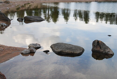 Камешки Колвицкого озера