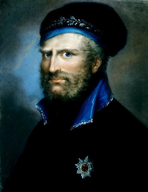 Фридрих Вильгельм Брауншвейг-Вольфенбюттельский, Чeрный герцог. 1809