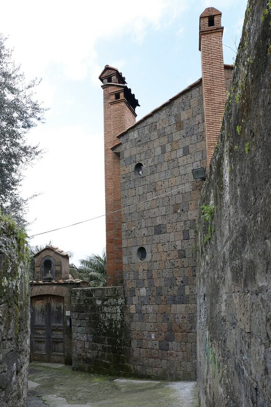 'Street of walls' Via Sopra le Mura, Sorrento