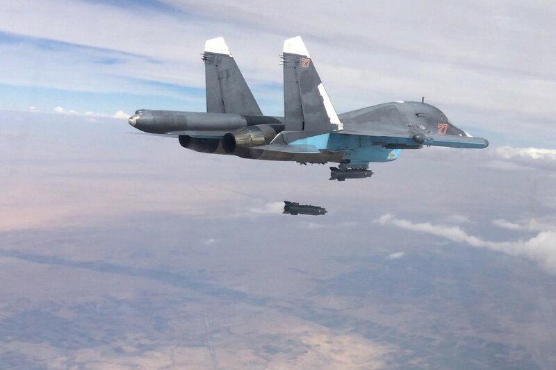 ВВС России продолжают наносить удары по объектам международной террористической организации ИГ на территории Сирии