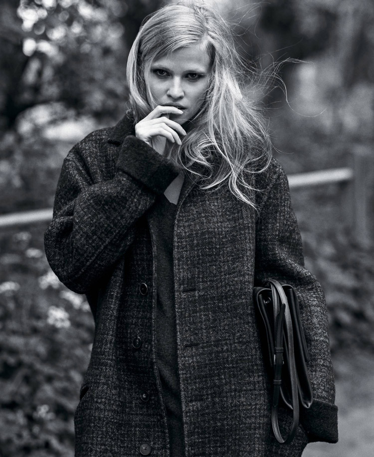 Лара Стоун (Lara Stone) в журнале The New York Times T Style