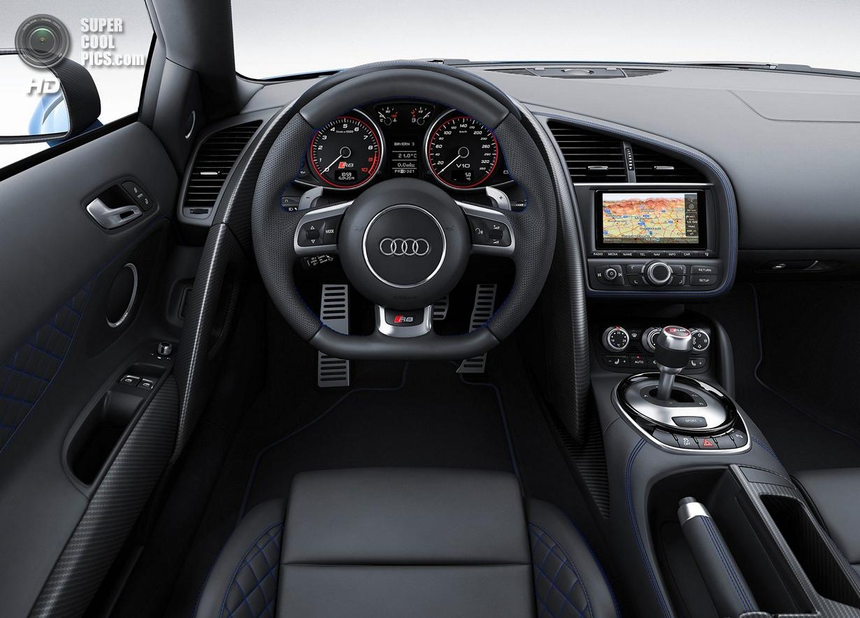 Audi R8: Лазерное зрение