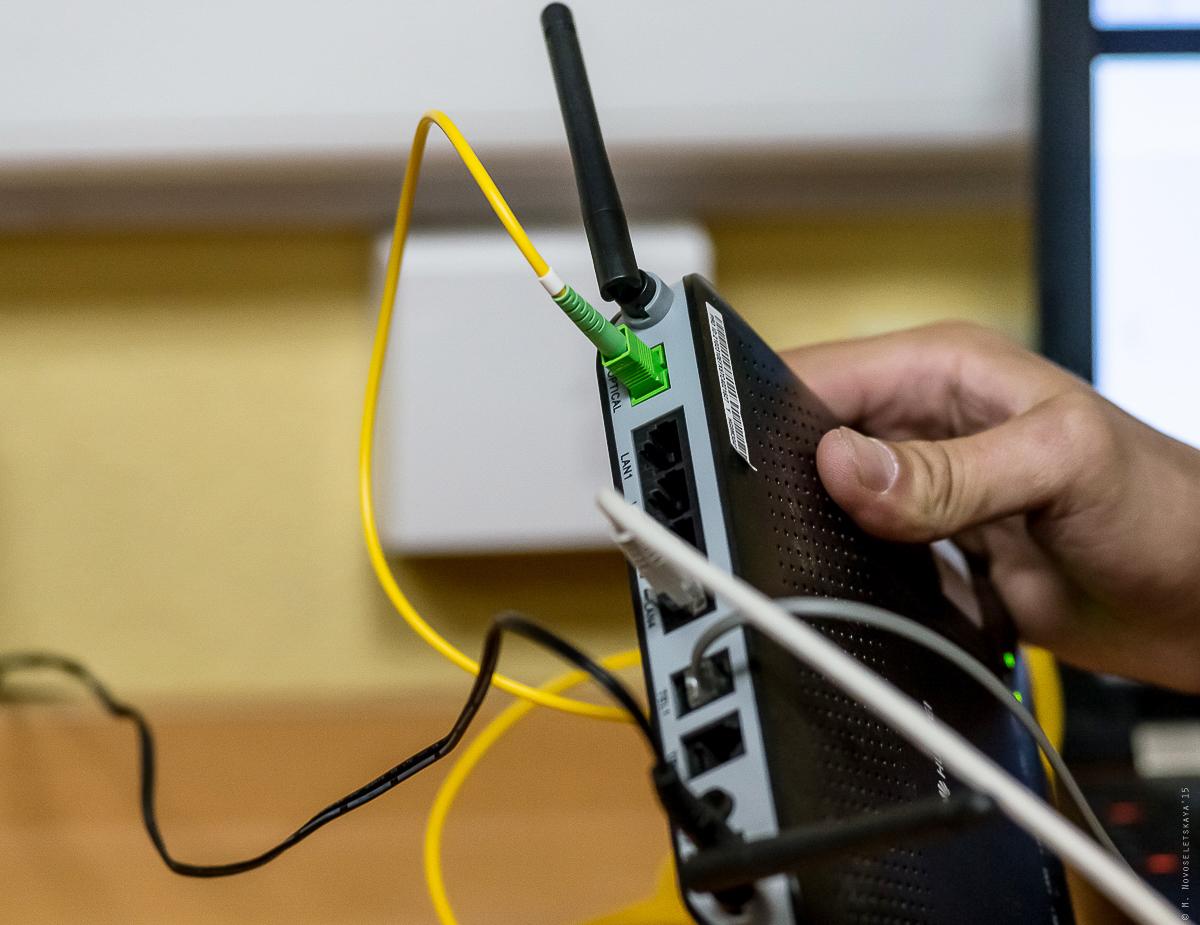 Как приходит интернет в домашних условиях