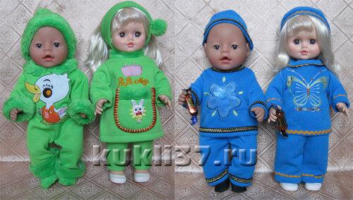 костюмы для куклы из детских вещей