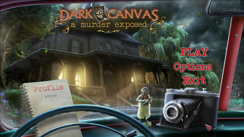 Dark Canvas 3: A Murder Exposed