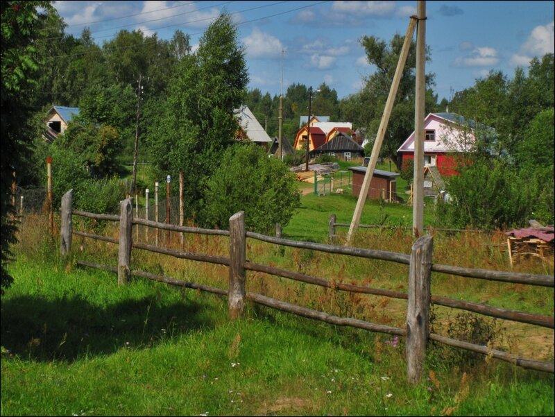 Деревня Балуево на Велье