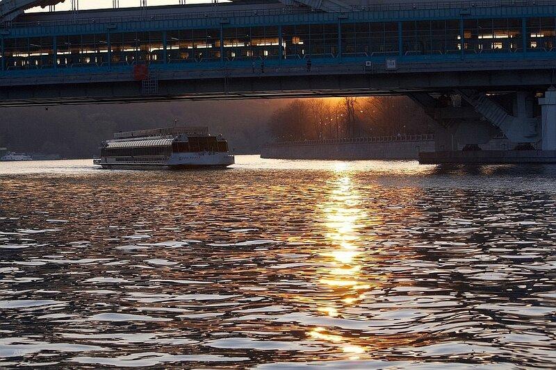 Лужнецкий метромост