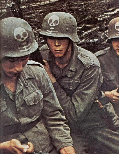 Вторая мировая война 50 цветных