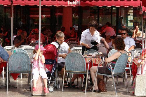 Кафе на главной площади