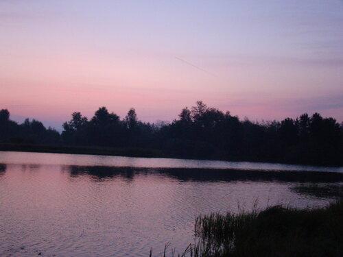 на утренней зорьке