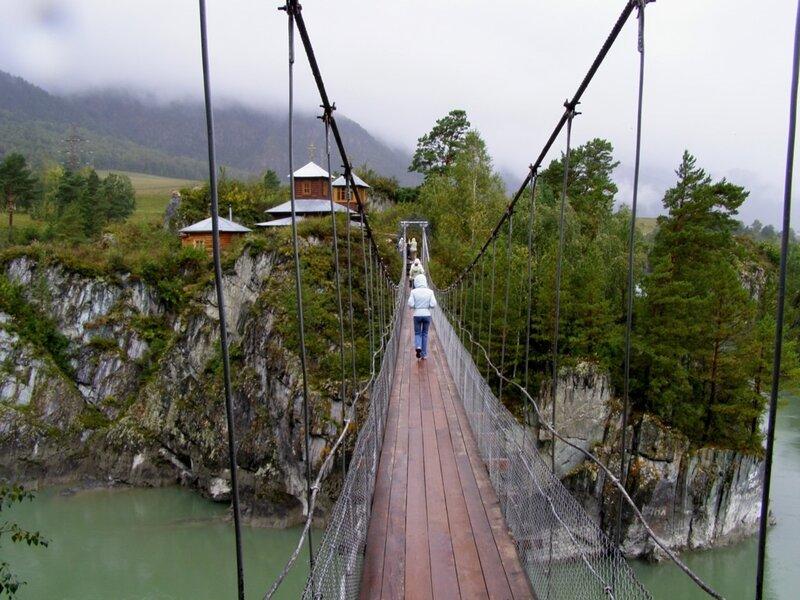 Мост к скиту на о.Патмос