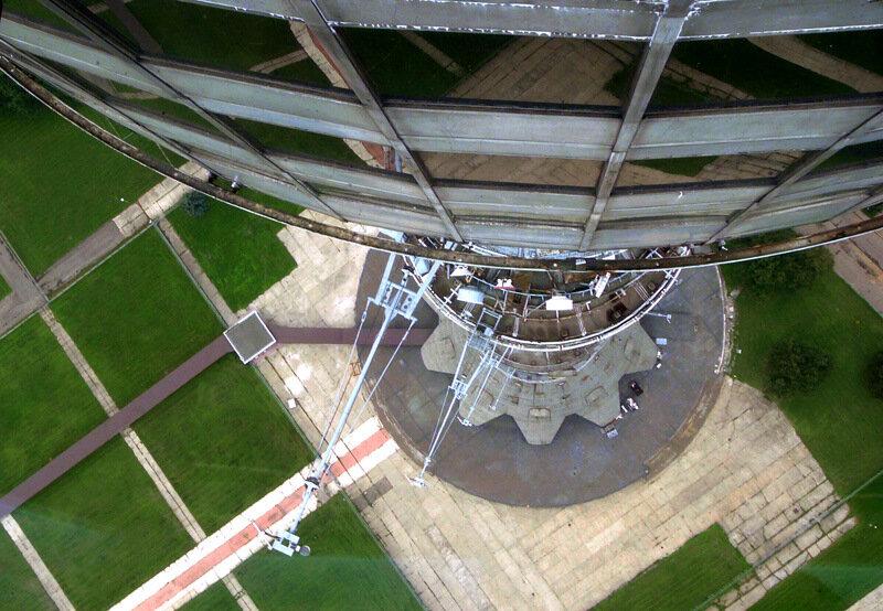 Со смотровой площадки Останкинской башни (331 метр)