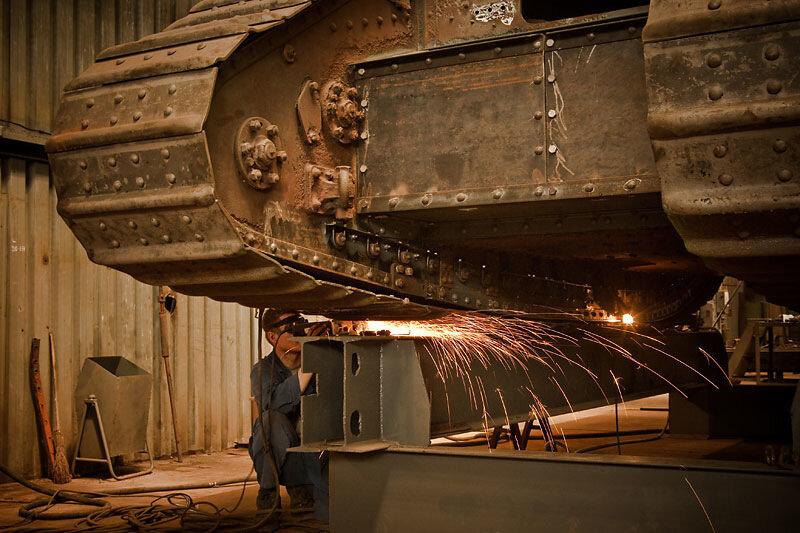 Реставрация английских танков