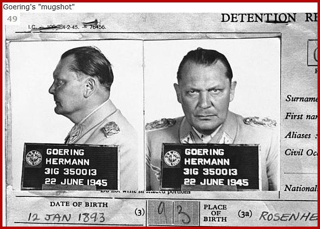Герман Геринг 22 июня 1945