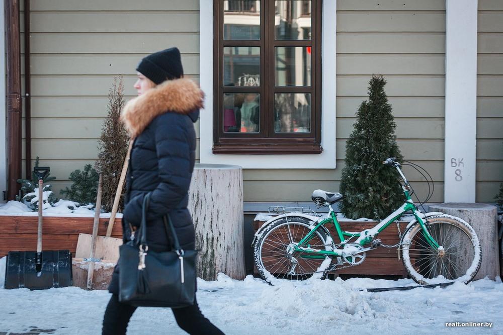 Репортаж из зимнего Минска