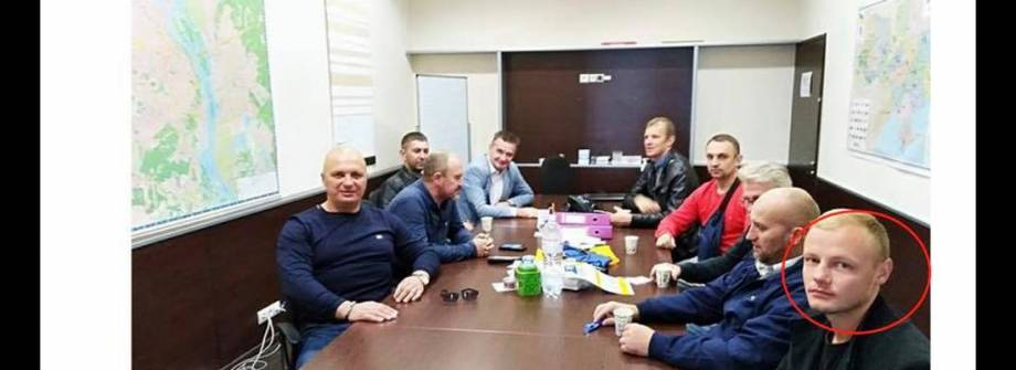 У РНС заперечили причетність чоловіка з вибухівкою до партії та виступили категорично проти насильства