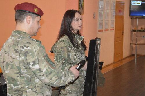 Экскурсия в военную часть