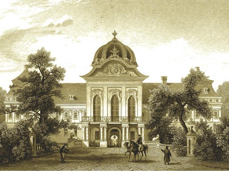 Здание дворца несколько раз перестраивали и расширяли
