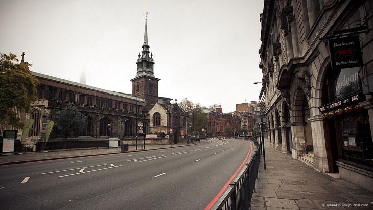 Собор Святого Павла. Находится в верхней части Ладгейт Хилл, самой высокой точке Ло