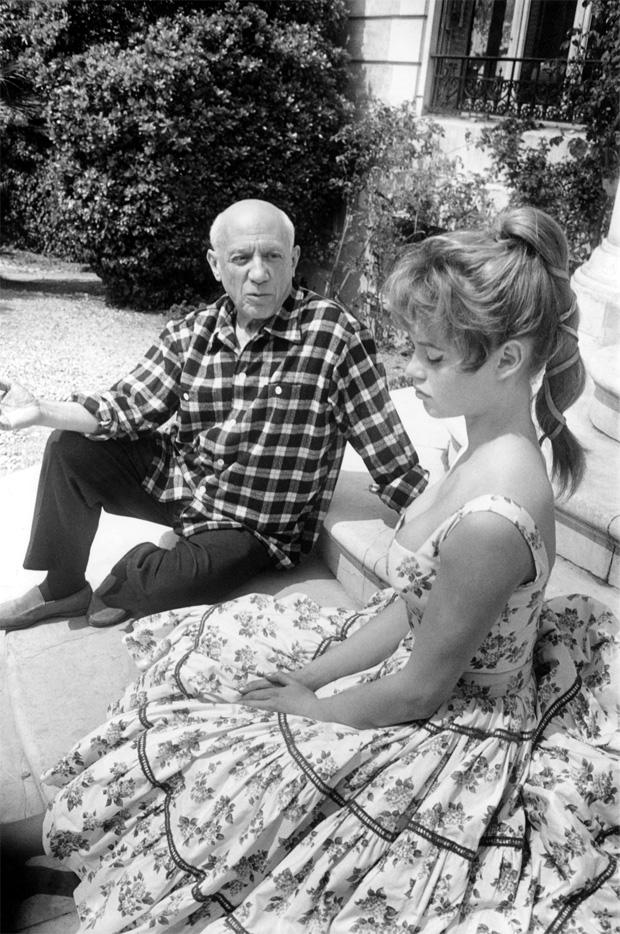 Два героя: Брижит Бардо и Пабло Пикассо