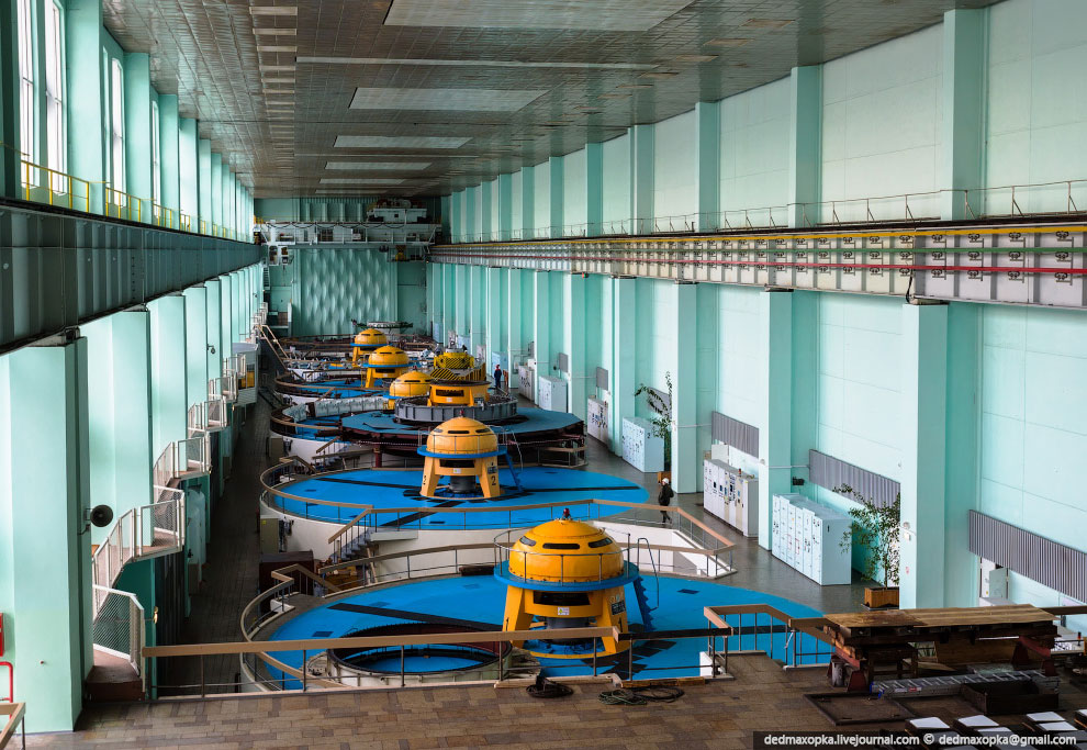 Зейская ГЭС в Амурской области