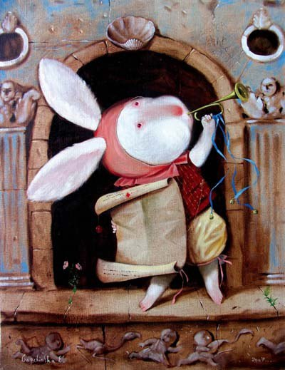 «Алиса в стране чудес»: иллюстрации Евгении Гапчинской (10 фото)