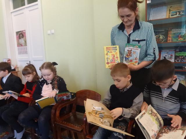 михалков, занятия с детьми, донецкая республиканская библиотека для детей, отдел обслуживания дошкольников и учащихся 1-4 классов