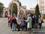 Для учащихся Покровского епархиального образовательного центра провели урок «Иконоведение» в Свято-Троицком кафедральный соборе г. Саратова