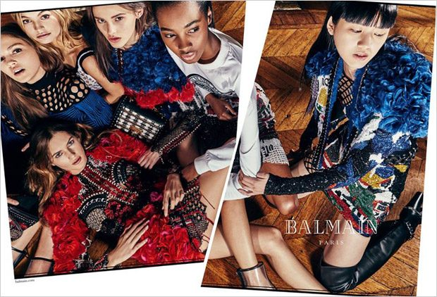 Balmain Spring Summer 2018 by Olivier Rousteing