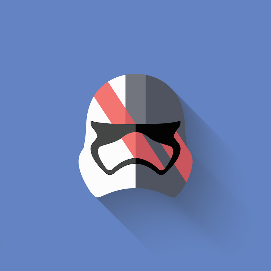 Star Wars The Flat Awakens Icons