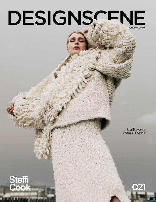 Design SCENE Magazine Exclusive female models