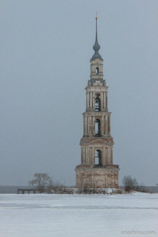Колокольня затопленного собора Николая Чудотворца, Калязин