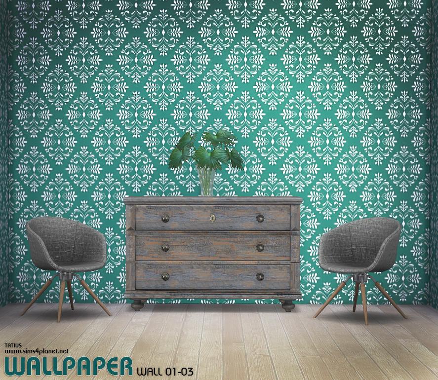 TATIUS. Wallpaper Wall 01-03